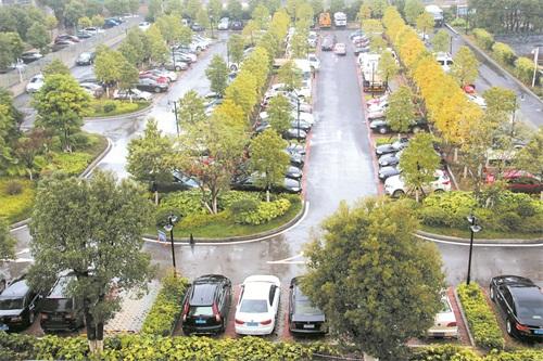 零陵生态停车场免费开放