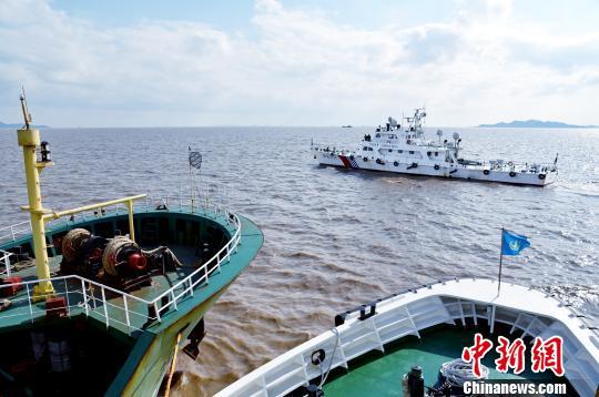 浙江舟山海域两船相撞一船沉没3人下落不明