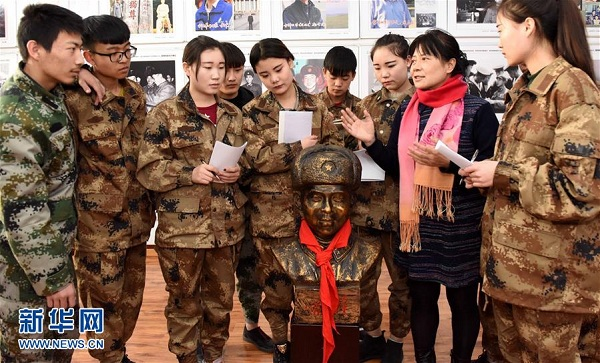 Life of Lei Feng makes impression on Hohhot students