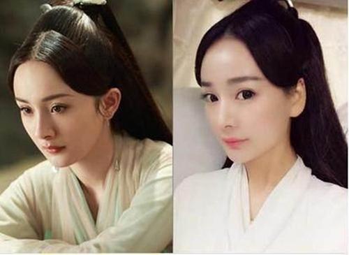杨幂自从在三生三世十里桃花中一人分饰多角之后就再也没人黑她演技差了,替身也只在背影中替了一次。