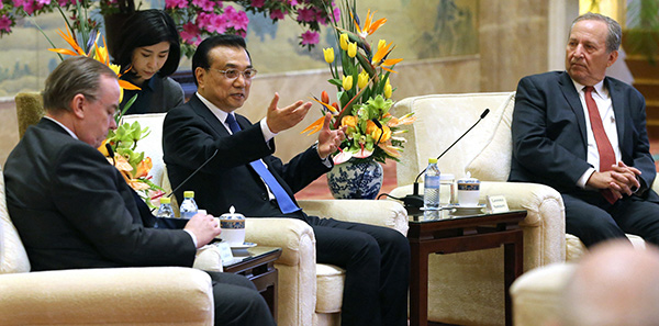 Li says trade friction should be tackled through dialogue