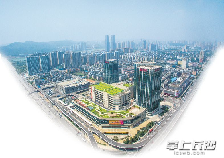 湘江新区综合交通枢纽。 长沙晚报记者 邹麟 摄