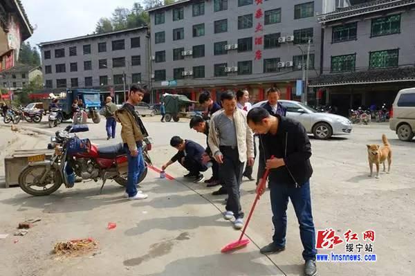 绥宁县规范黄桑集市秩序 营造整洁畅通的旅游环境
