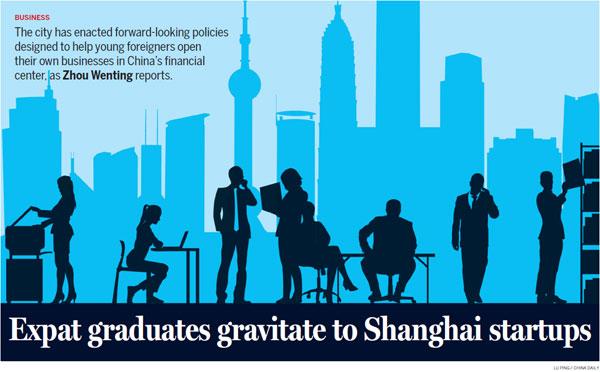 Expat graduates gravitate to Shanghai startups