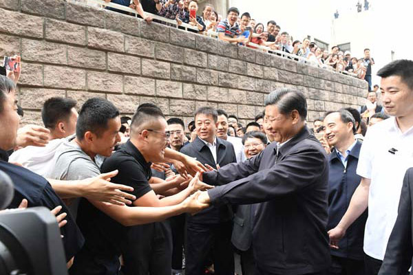 President promotes rule of law