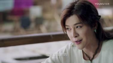 而他性格欢脱,和张辛苑饰演的四娘一言不合就互怼,对李鹤饰演的李少卿