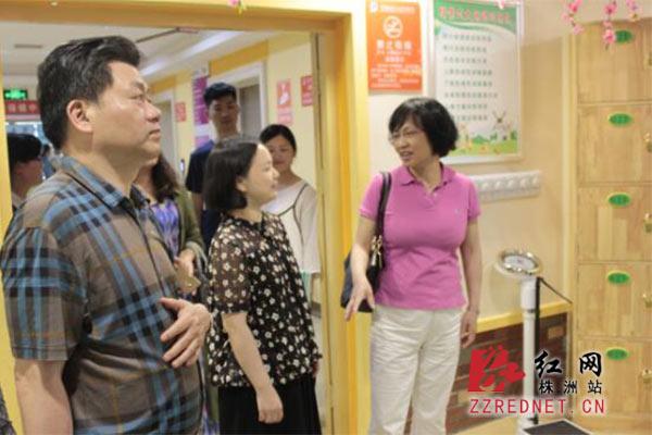 张纯良赴茶陵县督导妇幼民生实事和健康扶贫工作