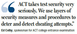 Chinese testing service offers US exam prep
