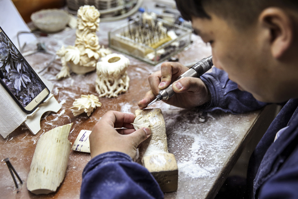 Carvers make a lifetime's commitment to their art