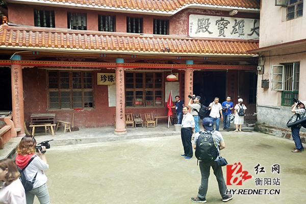 湖南金融摄影家聚焦衡阳县石市镇 助力旅游产业发展