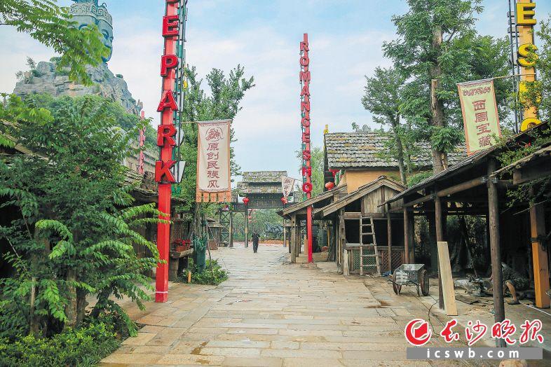 湖南最大西周文化主题公园——炭河古城7月将正式亮相宁乡县黄材镇。长沙晚报记者 李广军 摄