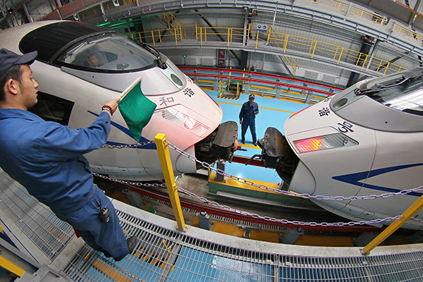 CRRC on the fast track for global expansion
