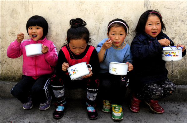 Providing food for thought in China's rural schools