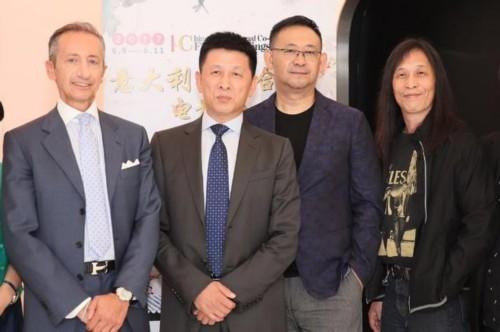 姜武参加意大利合拍电影展 开幕片《拆弹专家》