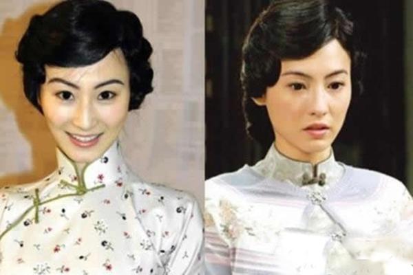 丽颖刘亦菲揭与明星似 双胞胎 的美女替身