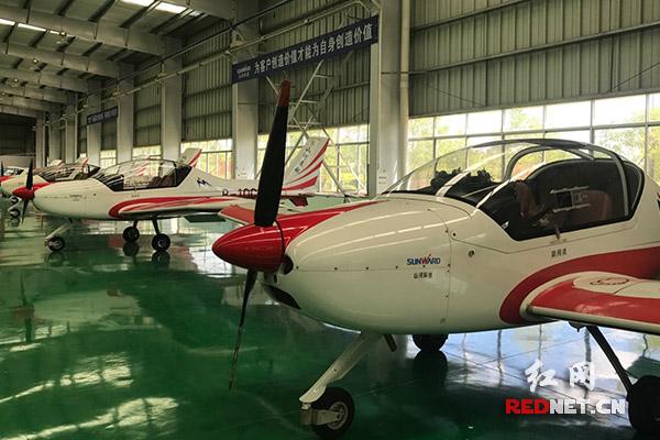 株洲山河科技股份有限公司,轻型运动飞机格外吸睛.