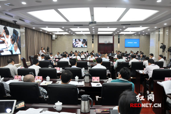 """湖南省政协召开""""优化非公经济发展法治环境""""专题协商会"""