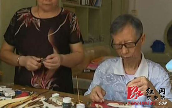 东安古稀老人将笋叶做成了国家专利