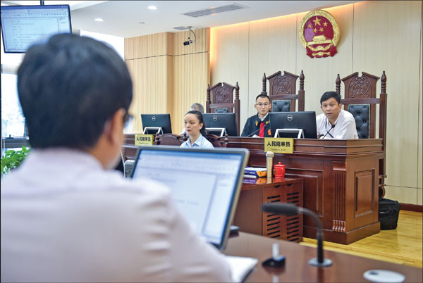Laudable progress in advancing rule of law