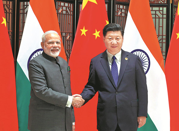 Xi, Modi are looking ahead to cooperation