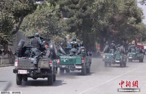 当地时间2017年8月,美国驻阿富汗大使馆附近一个热闹的购物街发生爆炸事件。