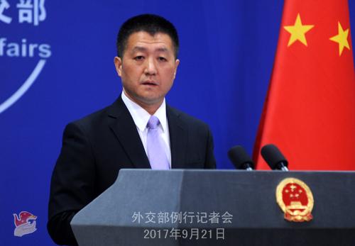 安倍称应对朝鲜的时间已不多 外交部回应