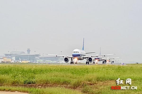 新增济南-衡阳-南宁,青岛-衡阳-贵阳航班,分别由重庆航空,东方航空执