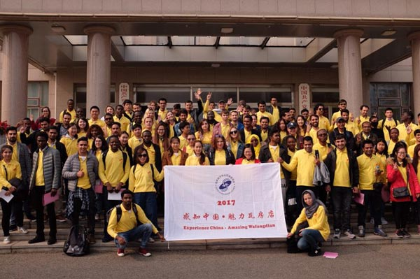 Overseas students feel the charm of Wafangdian