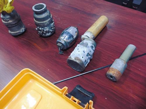 沈阳警方查获非法制枪和手雷窝点相继抓获仨嫌疑人