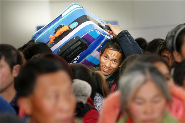Migrants shrink by 1.7 million