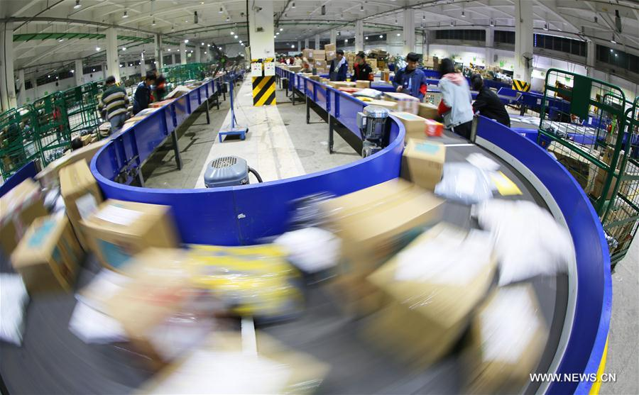 Courier companies running at full speed after Singles Day