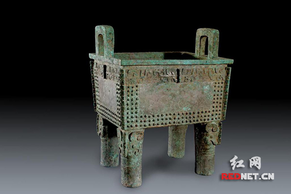 """考古专家岳洪彬长沙博物馆分享欣赏商代青铜器的""""门道"""""""
