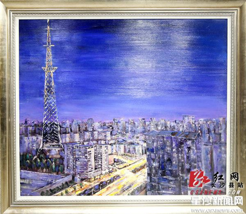 Changsha shows off its works of art