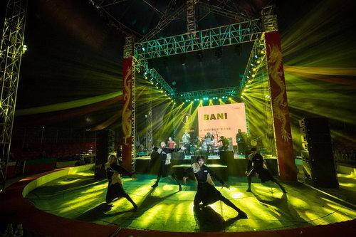 来自格鲁吉亚的民族乐队Bani 获得银奖