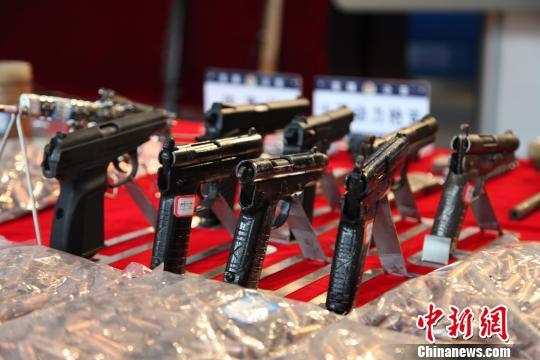 贵州安顺警方破获一起特大网络贩枪案