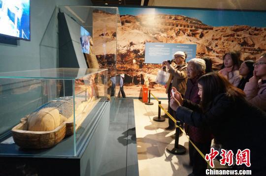 古埃及木乃伊郑州展出