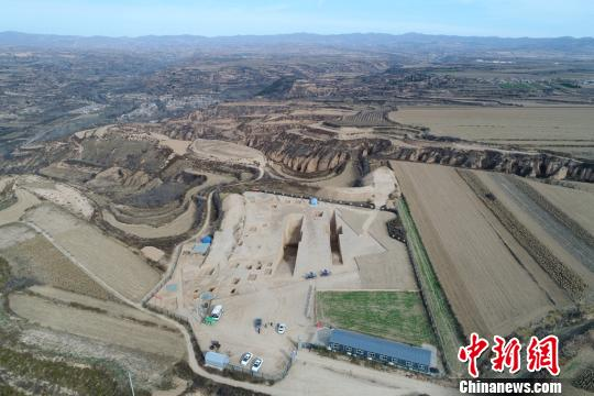 陕西发现目前国内规模最大春秋时期周系墓葬(图)