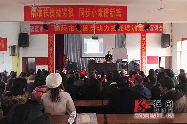 醴陵:培训能源技术 推进生态扶贫