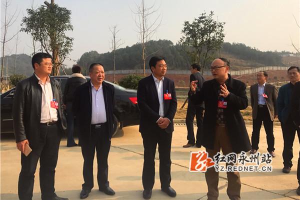 永州市政协委员积极开展界别小组参观考察活动