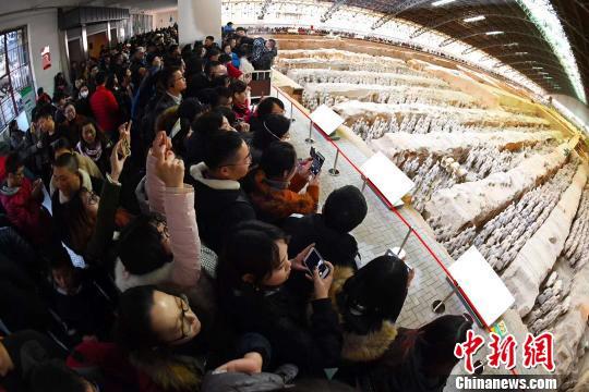 秦始皇帝陵博物院2017年接待中外游客685万人次