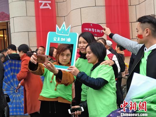低碳迎新年湖南衡阳连续60年举办元旦环城赛跑