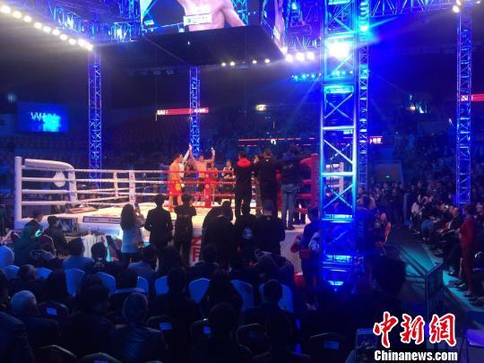 2017中国拳王争霸唐拉提汗复仇摘75公斤级金腰带