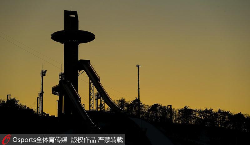 高清:平昌冬奥会前瞻 阿尔卑西亚滑雪中心美景