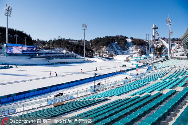 高清:平昌冬奥会前瞻 阿尔卑西亚滑雪中心美景【4】
