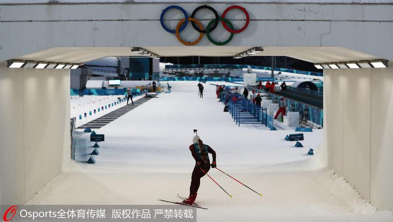 高清:平昌冬奥会前瞻 阿尔卑西亚滑雪中心美景【3】