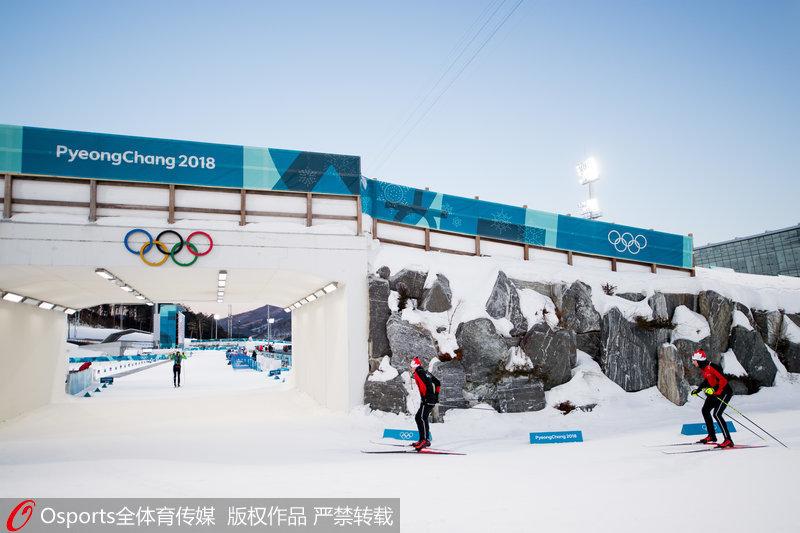 高清:平昌冬奥会前瞻 阿尔卑西亚滑雪中心美景【8】