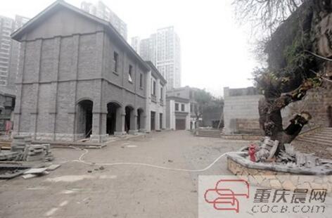打造中的博物馆街区。