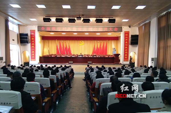 道县召开全面推行村务监督动员大会