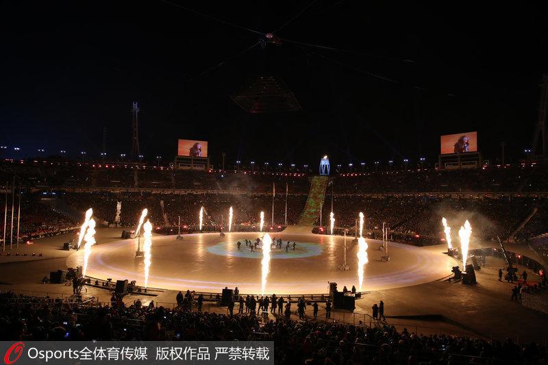 """高清:平昌冬奥会闭幕式 """"北京8分钟""""闪亮登场【2】"""