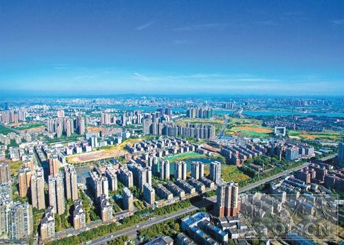 """创新驱动的高质量发展,将进一步擦亮湘潭国家高新区的""""高""""""""新""""底色。(方阳 摄)"""